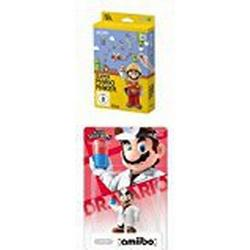 Super Mario Maker / Artbook Edition / [Wii U] + amiibo Figur Smash Dr. Mario